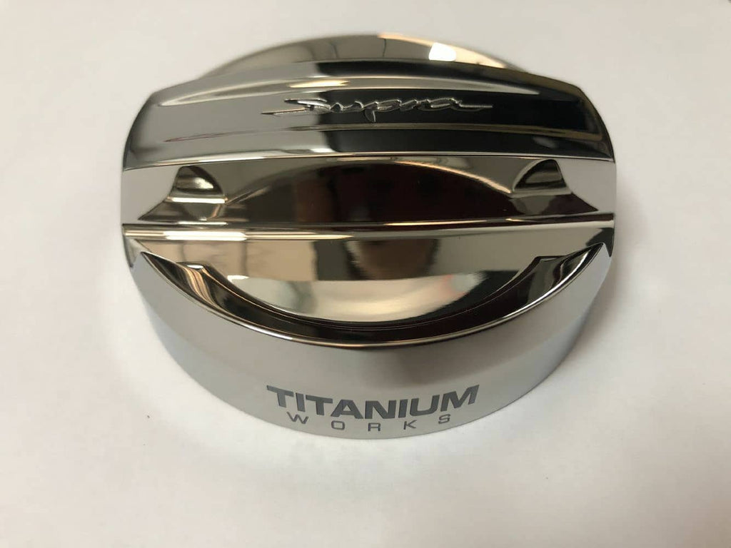 Titanium Works A90 supra cover oil cap