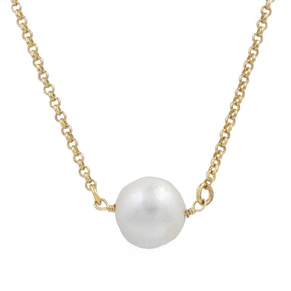 Tina Pearl  Necklace