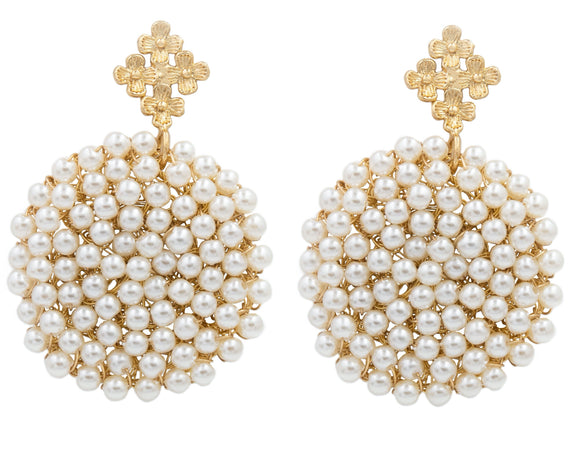 Audrey Pearl Earrings