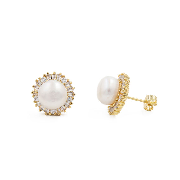 Sofia Pearl Earrings