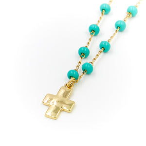 Amelia Cross Necklace