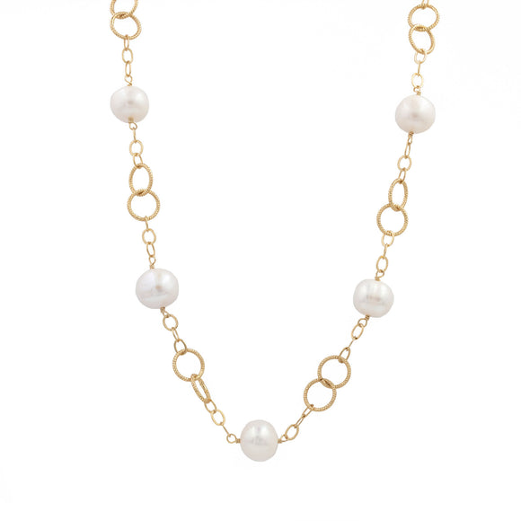 Jasmine Pearl Necklace