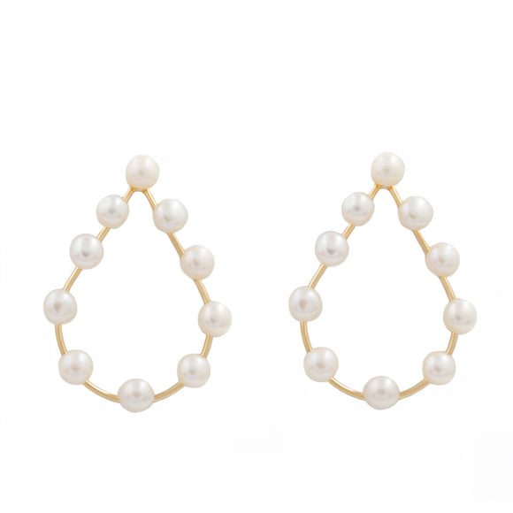 Jacklyn Pearl Earrings
