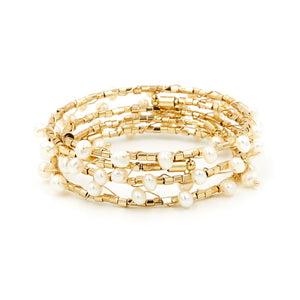 Pearl Bangle Set