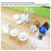 Silicone Measuring Cups 8pcs Epoxy Mixing Cups 100ml 10ml for Epoxy Resin, Casting Molds