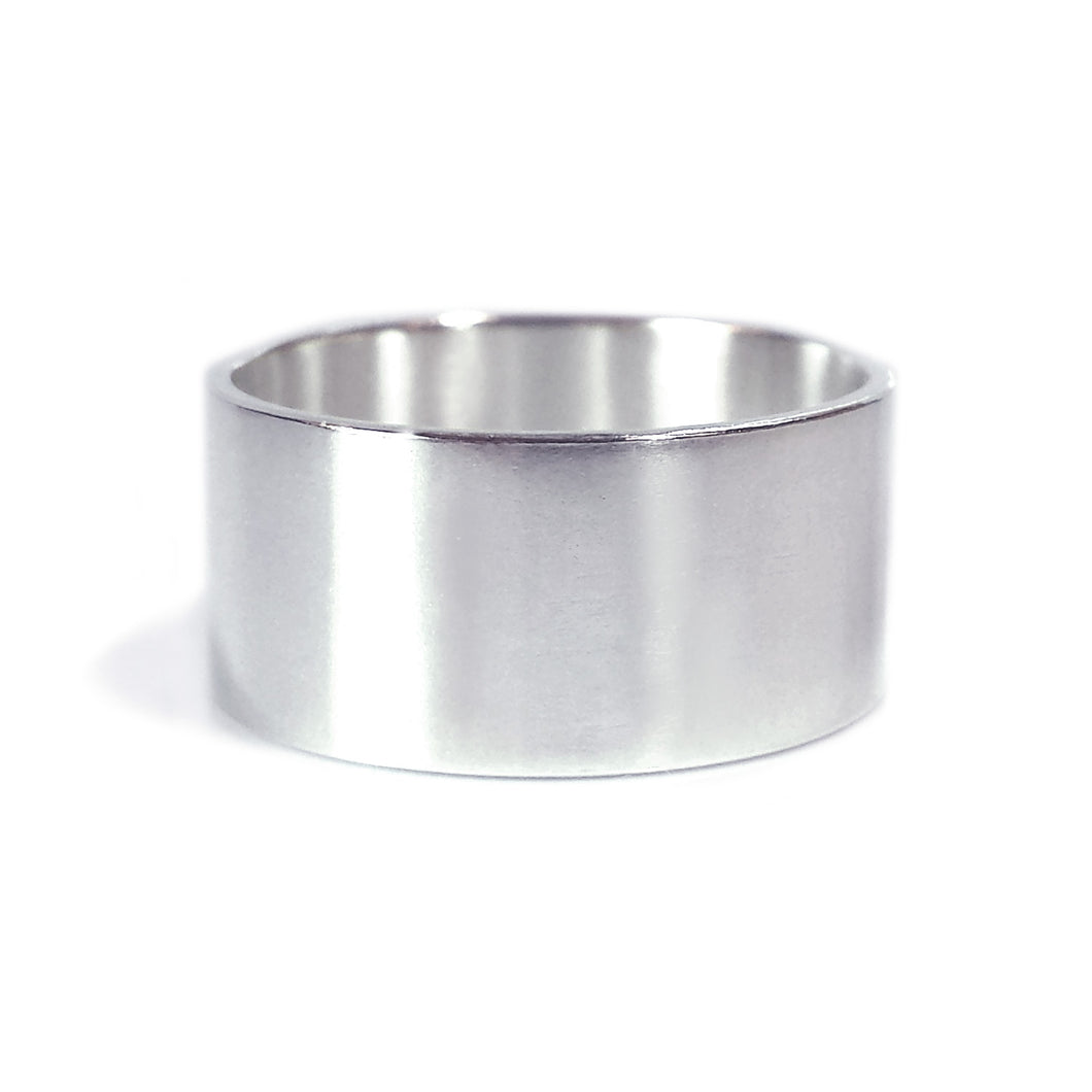 10mm Wide Band Ring