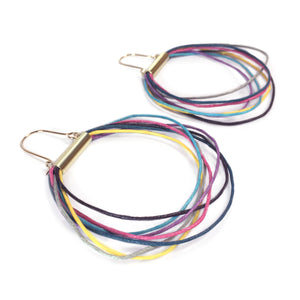 Bright Cord Earrings