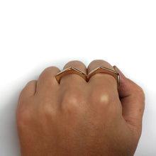 Load image into Gallery viewer, Bronze Knuckle Duster