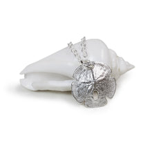 Load image into Gallery viewer, Silver Sand Dollar Necklace