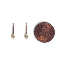 Load image into Gallery viewer, Brass Cilantro Seed Earrings