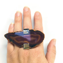 Load image into Gallery viewer, Russet Agate Ring