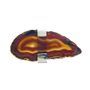 Russet Agate Ring