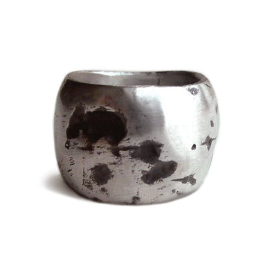 Burnt Silver Ring