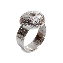 Load image into Gallery viewer, Silver Sea Urchin Ring