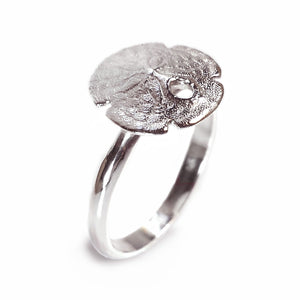 Small Sand Dollar Ring