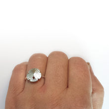 Load image into Gallery viewer, Small Sand Dollar Ring