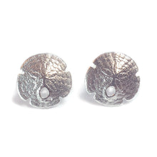 Load image into Gallery viewer, Small Sand Dollar Earrings