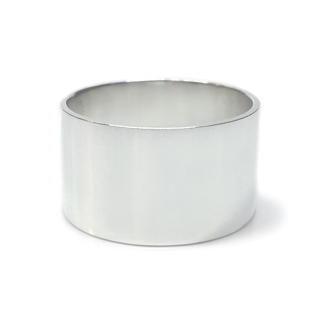 12mm Wide Band Ring