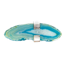 Load image into Gallery viewer, Blue Agate Ring