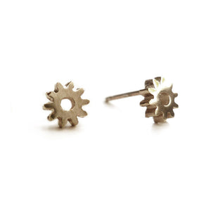 Teenie Brass Gear Studs