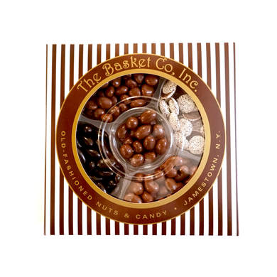 Five Section Chocolate Nut Tray