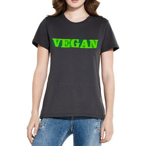 Vegan Women's Tank Top & Slim Fit Tees