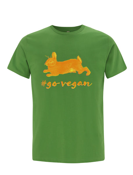 Bunny | Go Vegan | 100% Organic Cotton T-shirt