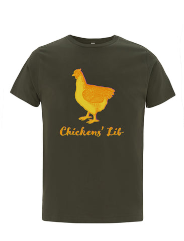 Chickens' Lib | 100% Organic Cotton T-shirt