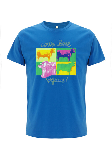 Cows Love Vegans! | 100% Organic Cotton T-shirt