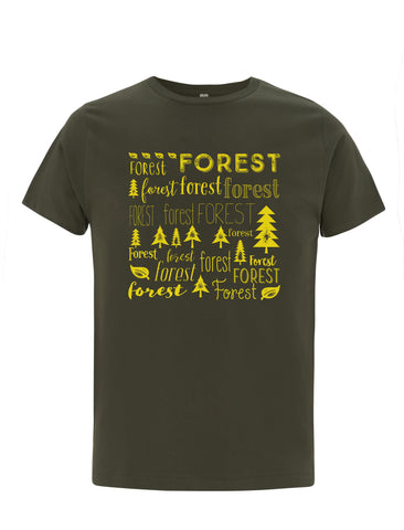 Forest | 100% Organic Cotton T-shirt