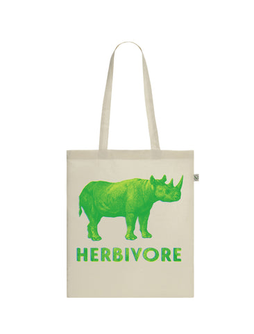 Herbivore | Rhino | 100% Organic Cotton Tote Bag
