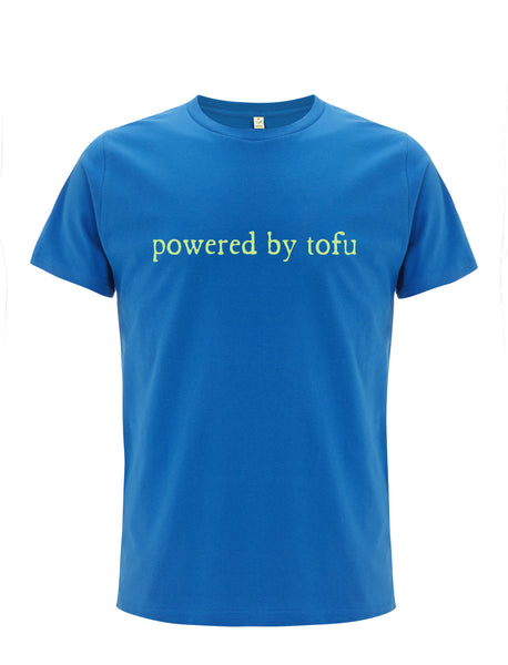 Powered By Tofu | 100% Organic Cotton T-shirt
