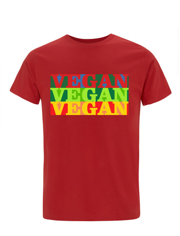 Three Times Vegan | 100% Organic Cotton T-shirt