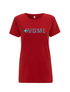 VGML | Vegan Meal Onboard | 100% Organic Cotton Women's Slim Fit T-shirt