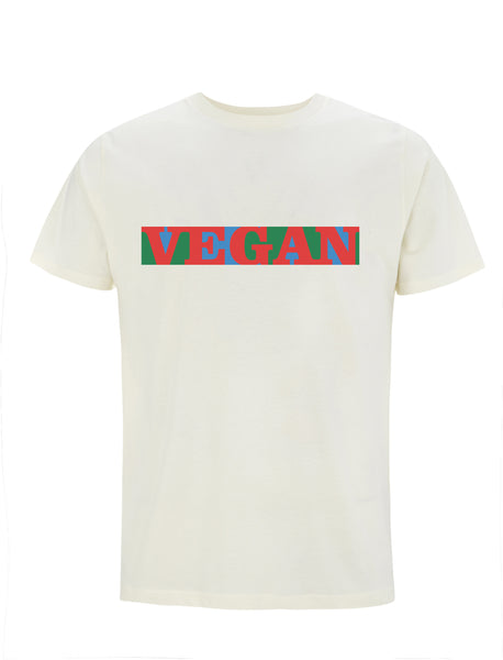 Vegan Pop Art Classic | 100% Organic Cotton T-shirt
