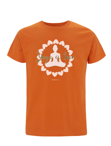 Yoga Is Love | 100% Organic cotton T-shirt