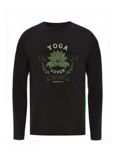 Yoga Lover | 100% Organic Cotton Long Sleeve Shirt