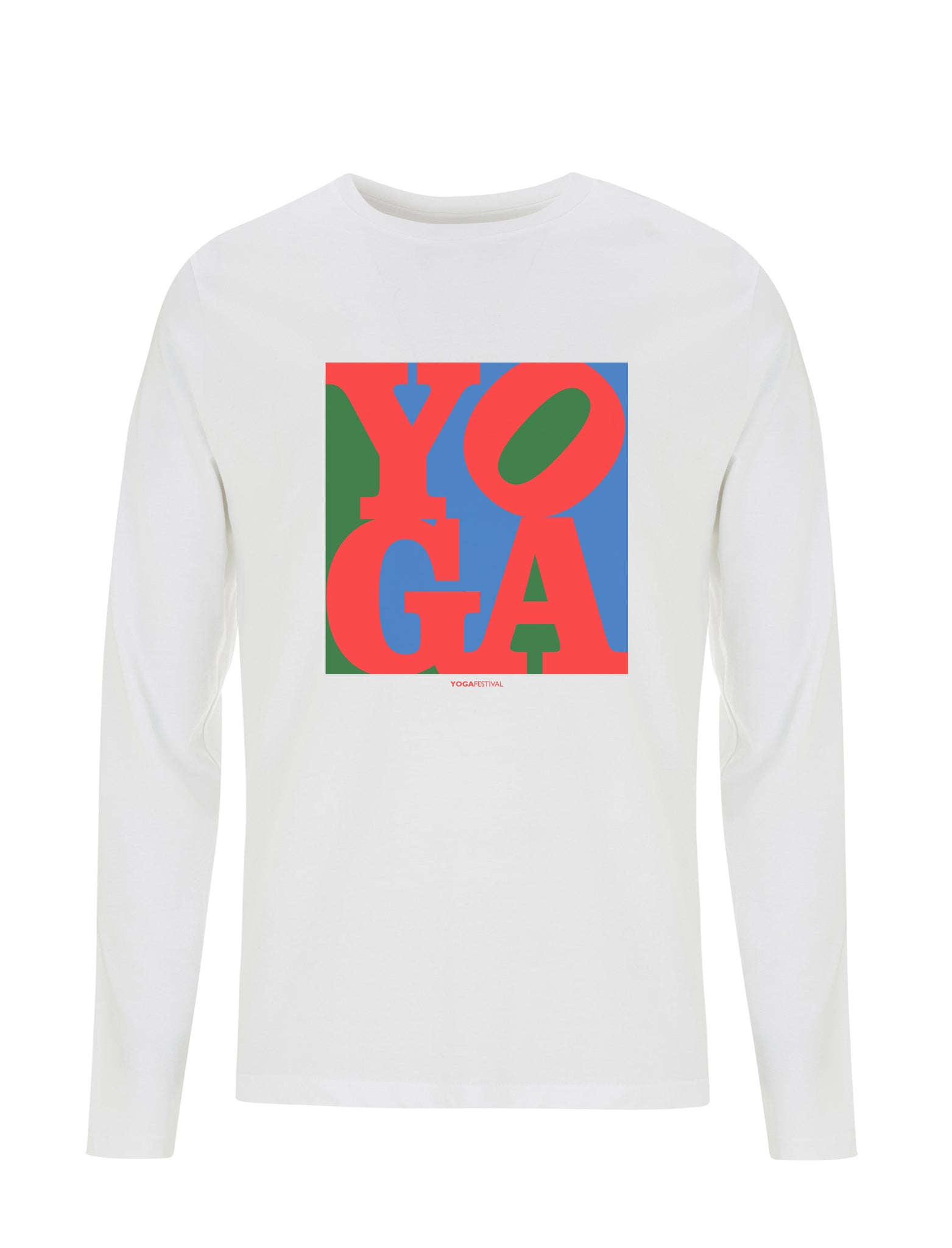 Yoga Pop Art Classic | 100% Organic Cotton Long Sleeve Shirt
