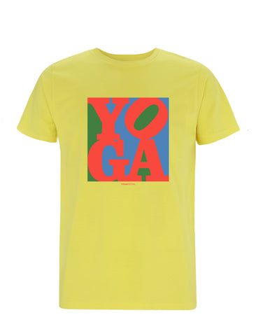 Yoga Pop Art Classic | 100% Organic Cotton T-shirt