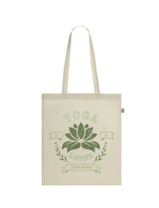 Yoga Lover | 100% Organic Cotton Tote Bag