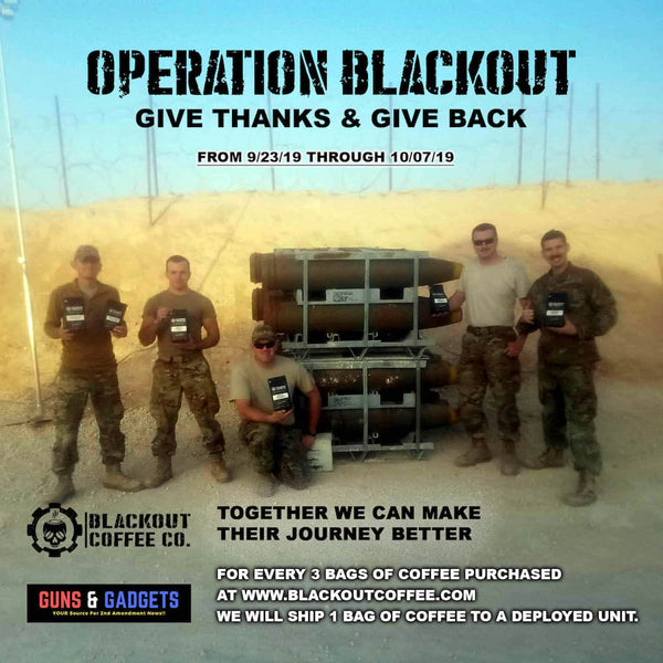 Operation Blackout - Coffee for Deployed Troops