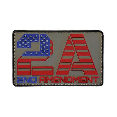 2A Patriotic PVC Patch Color