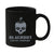 Blackout Coffee Skull Black Mug