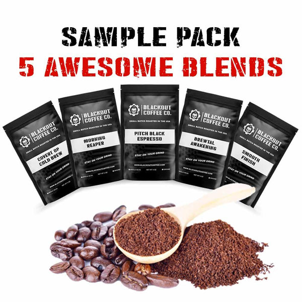 Blackout Coffee Sample Pack