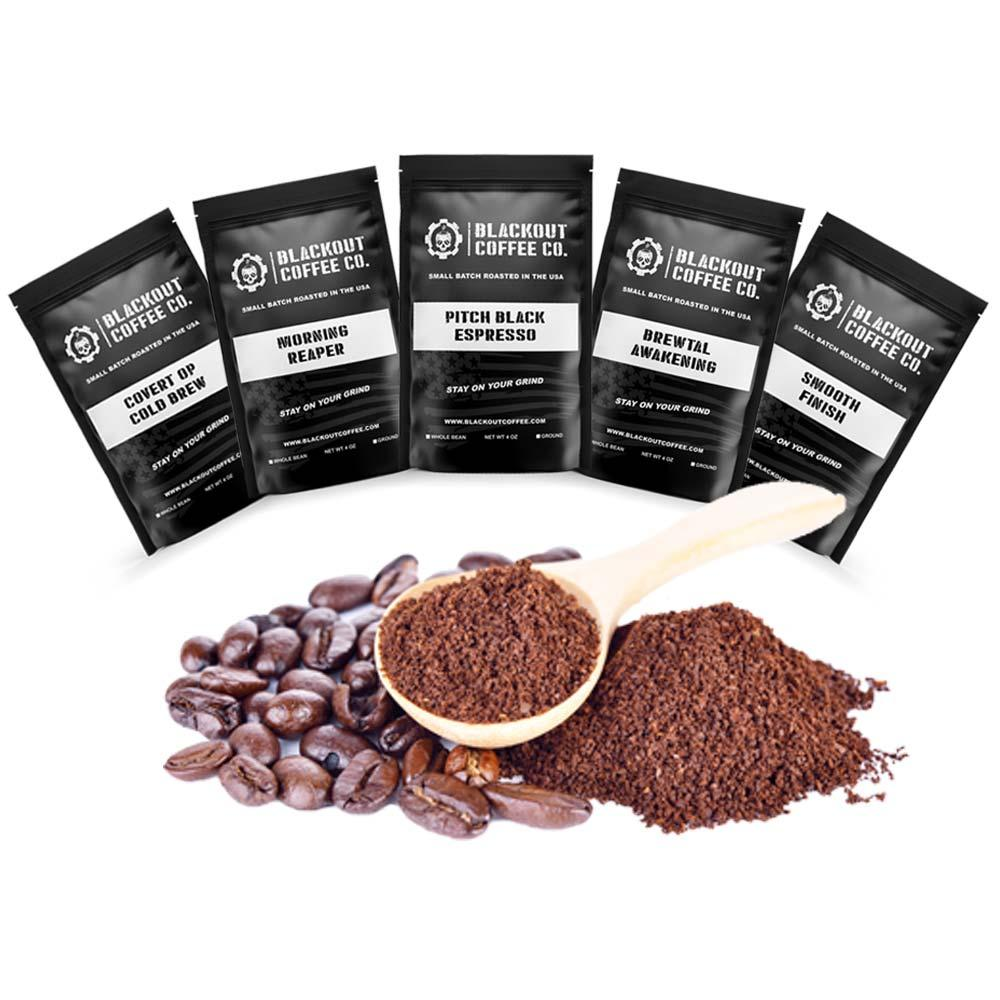 Blackout Coffee Sample Blend Pack