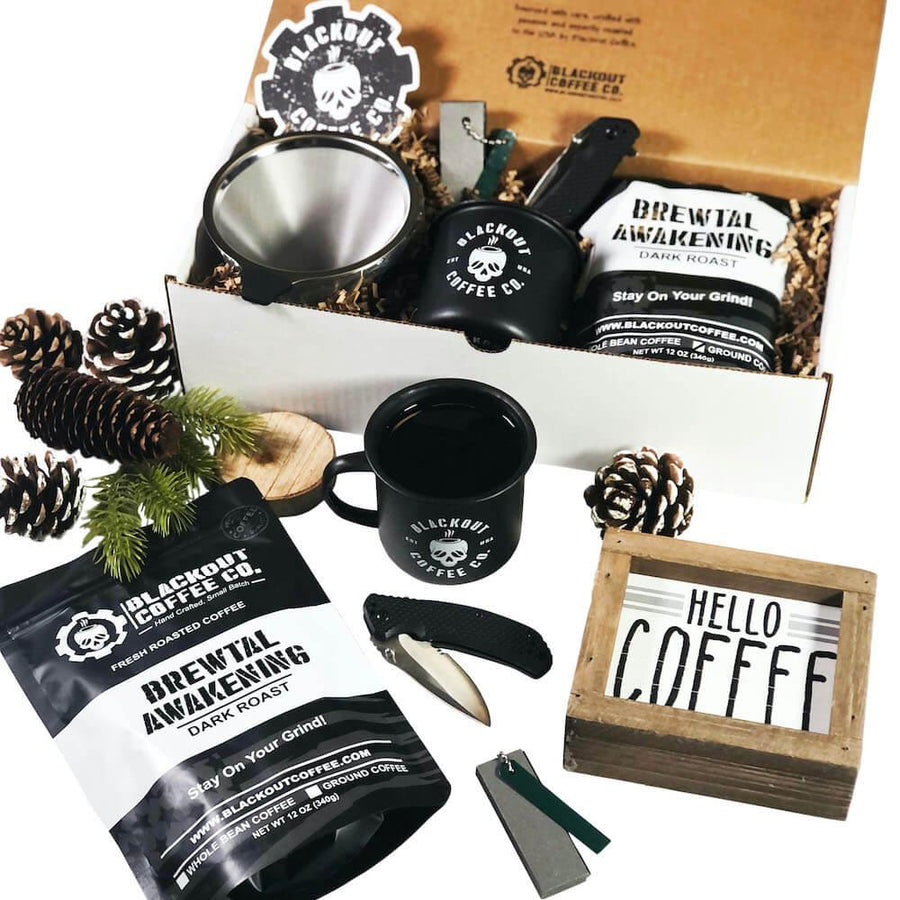 Bushcraft Coffee Gift Box