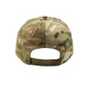 CAMO PATCH HAT WITH VELCRO CLOSURE