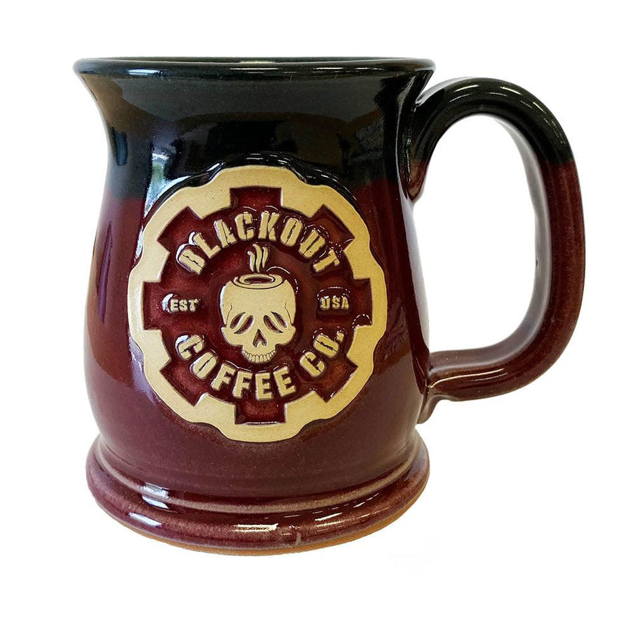 16 OZ WIDE MOUTH COFFEE MUG HANDMADE IN THE USA