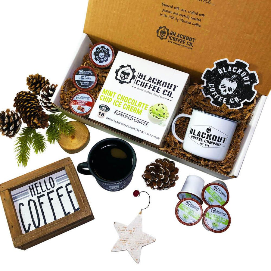Flavored Single Serve Coffee Pod Gift Box