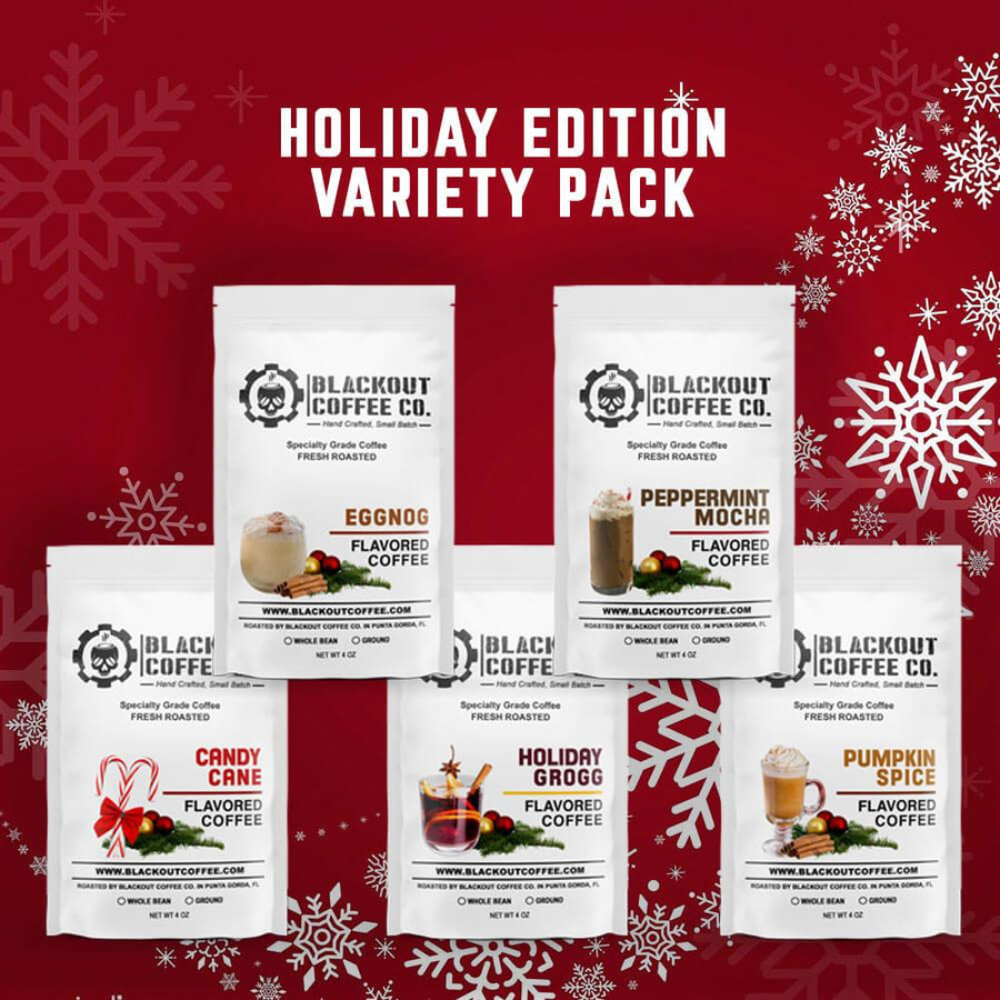 Holiday Edition Flavored Coffee Variety Pack